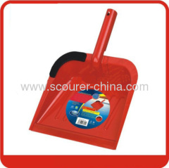 Garden Lobby Big Steel Dustpan with red or blue color