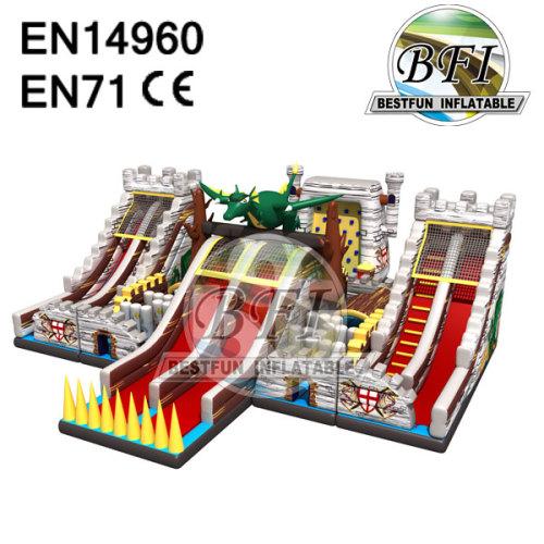 Inflatable Gaint Combo Slide