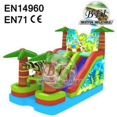 Inflatable Dinosaur Jurassic Park Slide