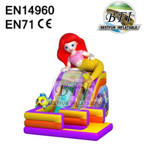 Inflatable Mermaid Theme Slide