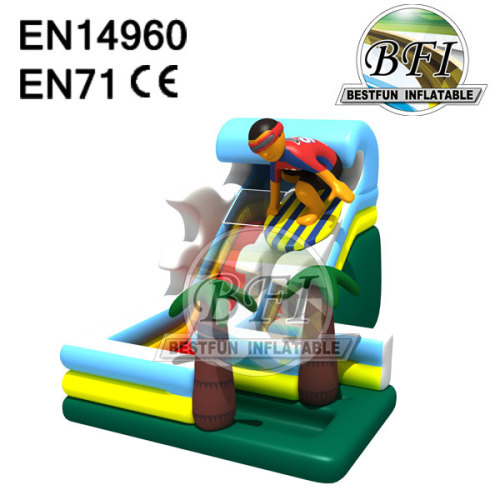 Inflatale Surf Riding Slide