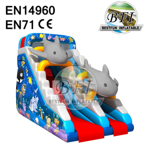 Cheap Inflatable Dolphin Slide Sale