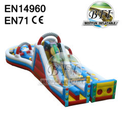 Racing Cars Slide Inflatable