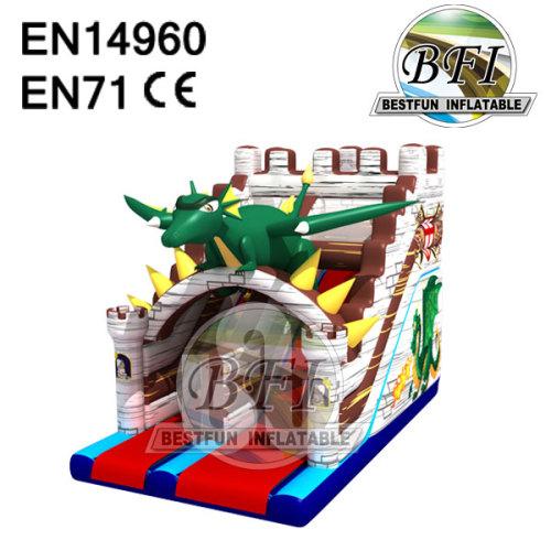 Dinosaur Castle Water Slide