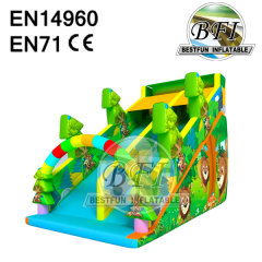 Inflatable Big Jungle Slide