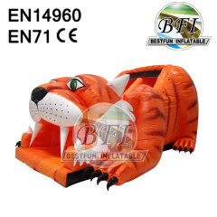 Tiger PVC Inflatable Slide