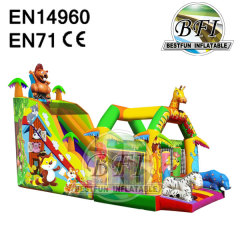 Inflatable Bouncy Slide Combo