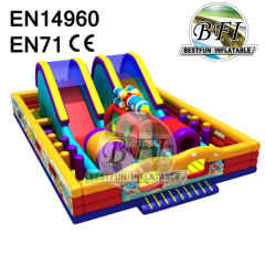 Inflatable Combo Slide Bounce House