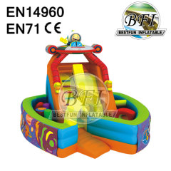 Inflatable Slide Bouncer obstacle