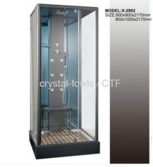 luxury glass shower room