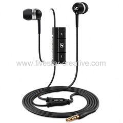 Sennheiser MM30i In-Ear Headphones Black