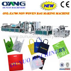 2013 Latest design full automatic non woven box bag making machine