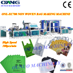 Full automatic non woven bag making machines