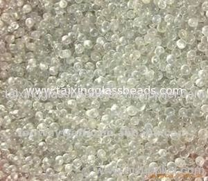 Glass bead for road marking paint