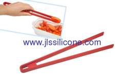 new kitcheware silicone BBQ tong with food approval