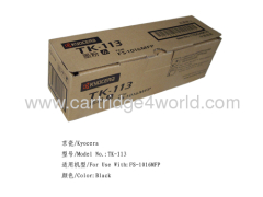 Fashionable and attractive packages Cheap Recycling Kyocera TK-113 toner kit toner cartridges