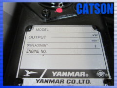 Yanmar 4TNV98-SSU new engine assy