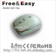 Nano receiver wireless optical mouse
