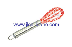 8.5 inch length silicone egg whisk