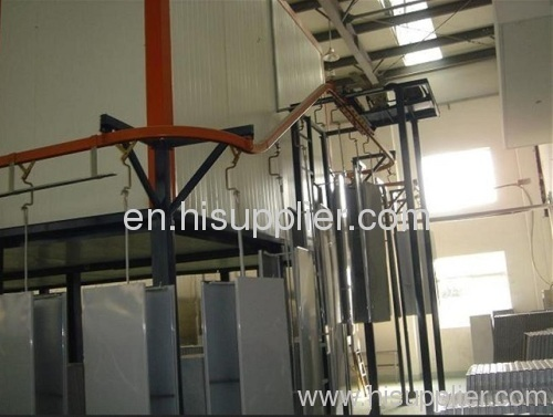 powder coating plant for refrigerator