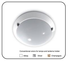 Microwave sensor Mounting light