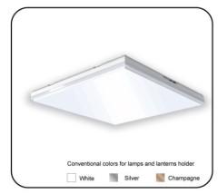 Microwave sensor ceiling light