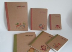 Eco-friendly craft paper book