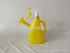 2013yellow plastic watering can