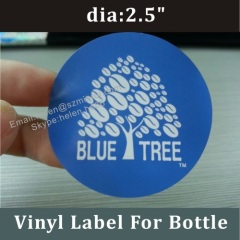 self adhesive logo sticker label for package