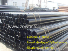 JS brand carbon seamless steel pipe in China