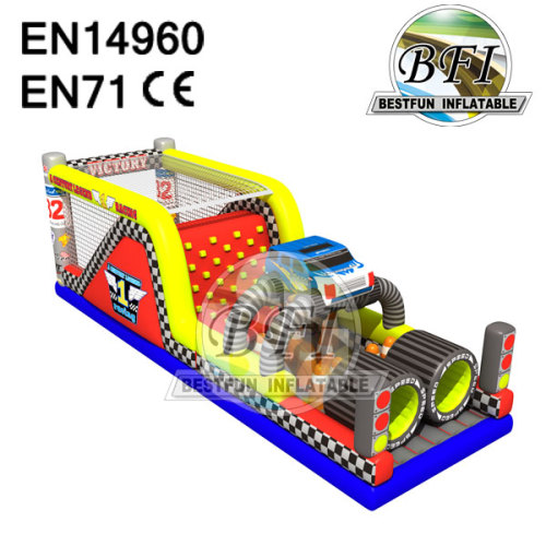 Kids Inflatable Obstacle Course Equipment