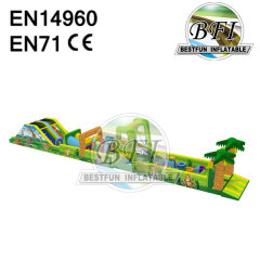 Inflatable Obstacle Course Equipment Obstacle Toy