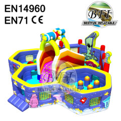 Inflatable Obstacle Bouncer Combo