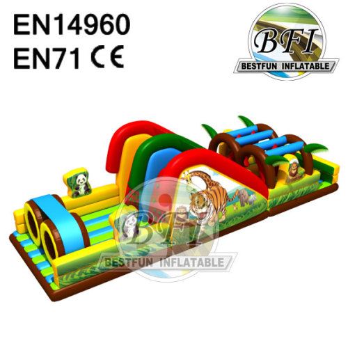 Outdoor Obstacle Course Equipment