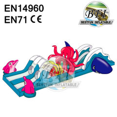 Octopus Inflatable Obstacle Course