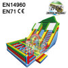 Big Inflatable Obstacle Course Slide