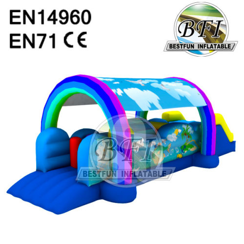 Inflatable Obstacle Course For Kids