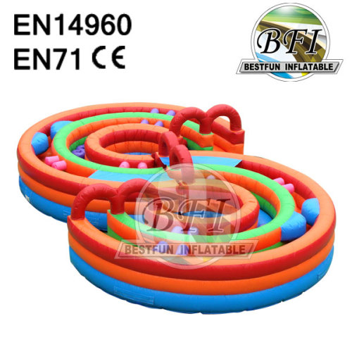Inflatable Obstacle Playground Extreme Rush