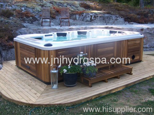 6 persons large hot tub with 32 39 39 lcd tv from china for Hot tubs for tall people