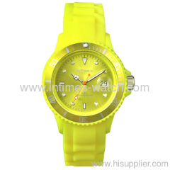 ladies watch IT-044 plastic case silicone band lady watch size 15 colors Japan quartz watch from Intimes ladies watch