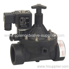 2 inch 6VDC plastic irrigation water system bistable latch type solenoid valve