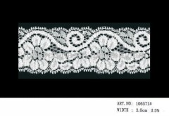 Embroidery Lace fabric/Elastic Lace /Spandex Lace