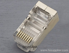 8P8C modular plug shielded CAT6