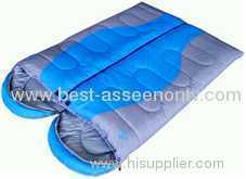 Outdoor lovers sleeping bag patchwork cotton