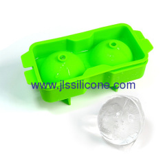Hot sale double sphered 2.5 inch whrisky ice ball maker