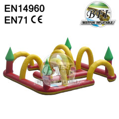 Inflatable Race Track For Go Karts