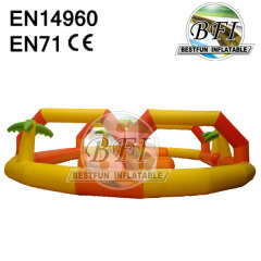Inflatable Race Track For Bumper Cars