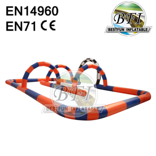 Indoor / Outdoor Inflatable Mini Car Race Track