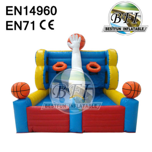 Inflatable Basketball Structure Game