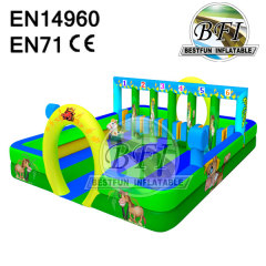 Commercial Inflatable Pony Feild